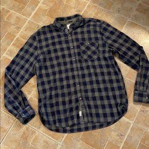 Denim & Flower flannel button down shirt size XL